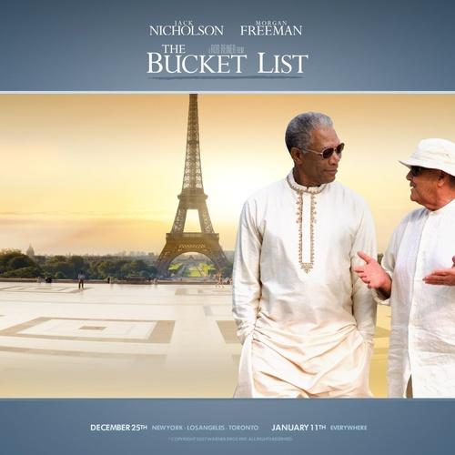 See the bucket list movie - Bucket List Ideas