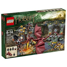 Build The LEGO Lonely Mountain Set - Bucket List Ideas