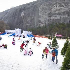 Go to Snow Mountain at Stone Mountain - Bucket List Ideas