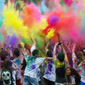 Attend the Festival of Colors in India - Bucket List Ideas