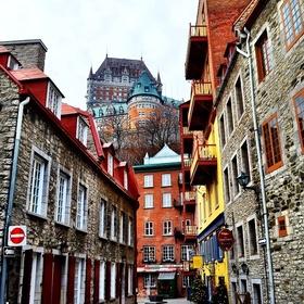 Walk through Old Quebec City,Canada - Bucket List Ideas