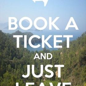 Take a spontaneous trip on the next plane to anywhere - Bucket List Ideas