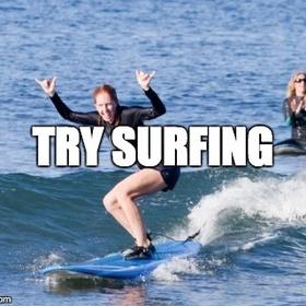 Try surfing - Bucket List Ideas
