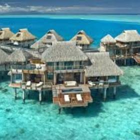 Stay in an overwater hut in Fiji/Maldives/Tahiti/Seychelles - Bucket List Ideas
