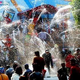 Visit Thailand during the Songkran water festival - Bucket List Ideas