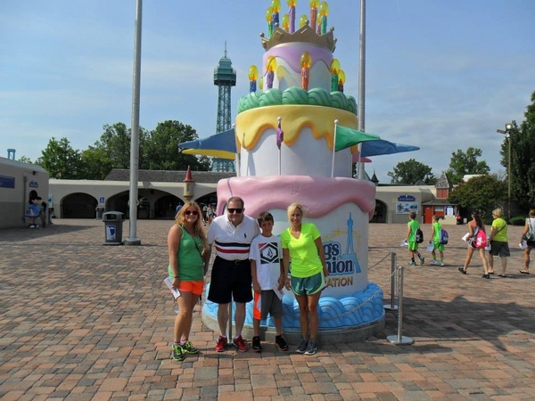 Go to Kings Dominion - Bucket List Ideas
