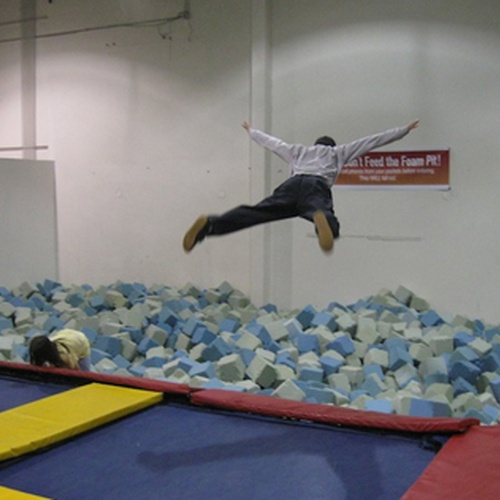 Jump into a foam pit - Bucket List Ideas