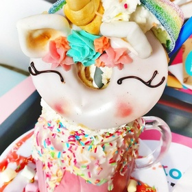 Have a unicorn freakshake at Mr. Funk, Budapest, Hungary - Bucket List Ideas