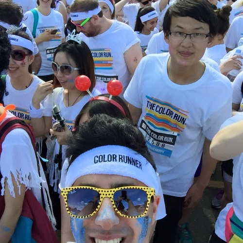 Run the London 5K Colour Run - Bucket List Ideas
