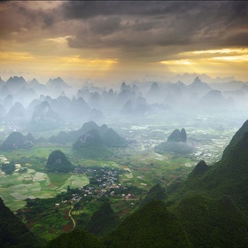 Visit the Kharst formations in Guilin and Yangshou - Bucket List Ideas