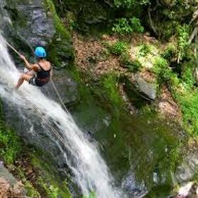 Rappell down a waterfall - Bucket List Ideas