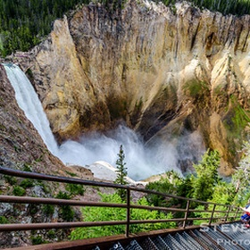 Walk the Uncle Tom's Trail in Yellowstone National Park - Bucket List Ideas