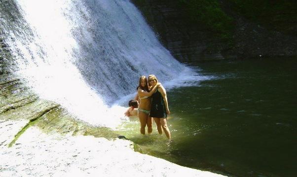 Swim in a Waterfall - Bucket List Ideas