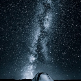 Go camping and watch the milky way with naked eyes - Bucket List Ideas
