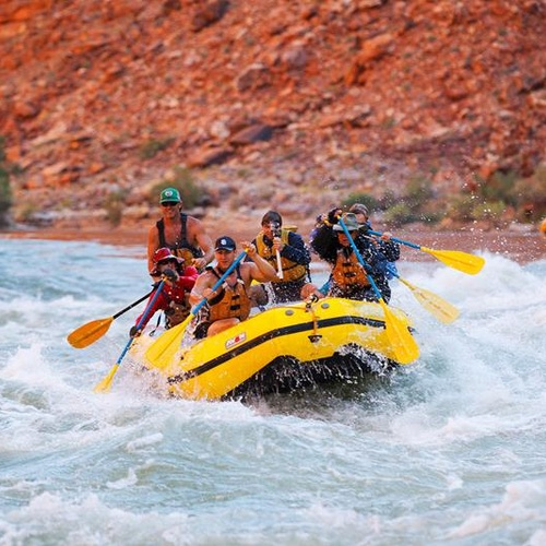 Go white water rafting @ the Grand Canyon - Bucket List Ideas