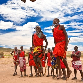 Dance with Maasai Warriors - Bucket List Ideas