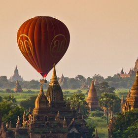 Air Balloon over Myanmar - Bucket List Ideas