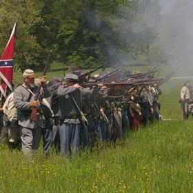 Go to a major American civil war reenactment event - Bucket List Ideas