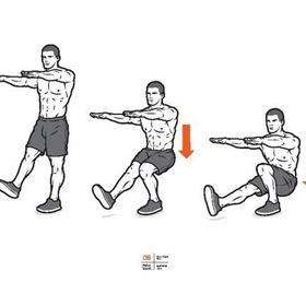 Do 10 one legged squats - Bucket List Ideas