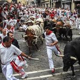 See the running of the bulls in pamplona - Bucket List Ideas