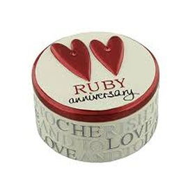 Celebrate Our Ruby Anniversary - Bucket List Ideas