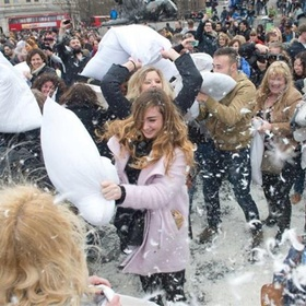 Have a Pillow Fight - Bucket List Ideas