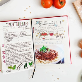 Make my own recipe book and recipe collection - Bucket List Ideas