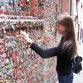 Add a piece of gum to the seattle gum wall - Bucket List Ideas
