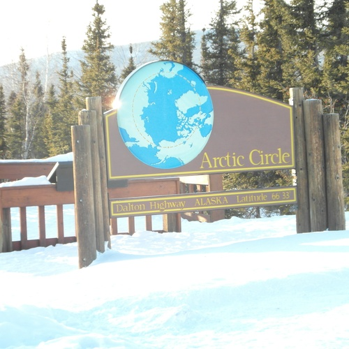 Stand on the Arctic Circle - Bucket List Ideas