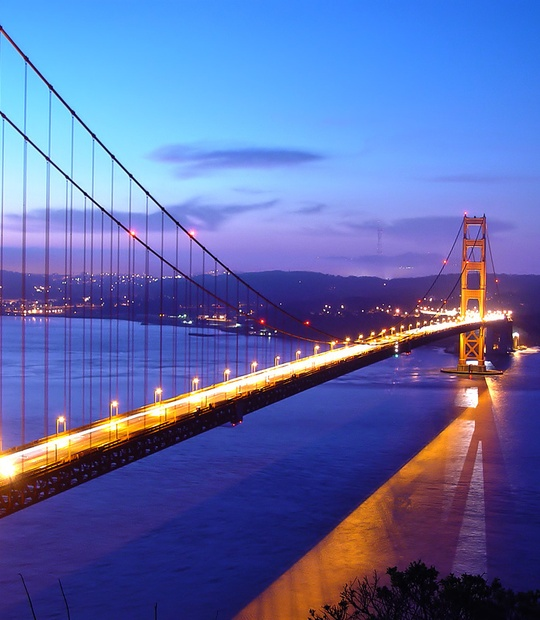 Walk the Golden Gate bridge - Bucket List Ideas
