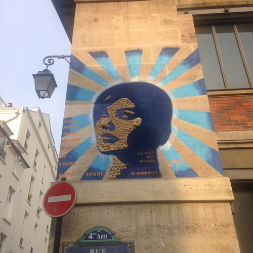 Street art in Paris - Bucket List Ideas