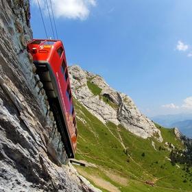 Go to the top of Mount Pilatus in Swizterland - Bucket List Ideas
