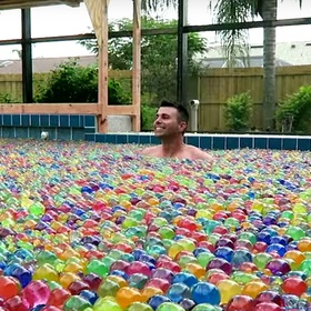 Swim in a pool full of orbeez - Bucket List Ideas