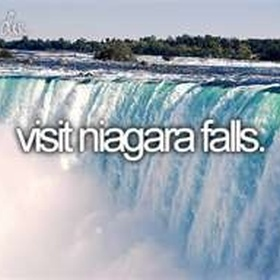 See the Niagara Falls - Bucket List Ideas