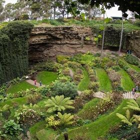 Walk around the Sunken Garden in Australia - Bucket List Ideas
