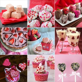 Make 10 Valentine's Day Themed Recipes - Bucket List Ideas