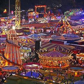 Go to the Goose fair Nottingham - Bucket List Ideas