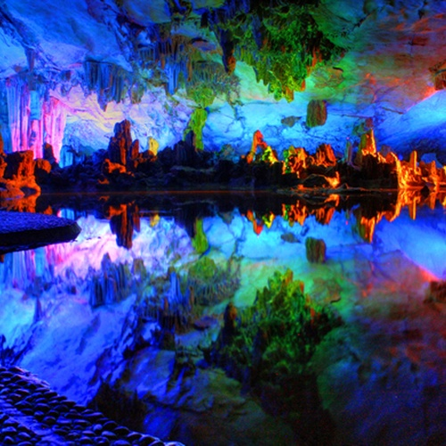 See The Reed Flute Cave in Guilin, Guangxi, China - Bucket List Ideas