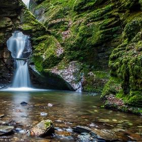 Visit St. Nectan's Kieve Waterfall in England - Bucket List Ideas