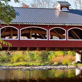 Go to a covered bridge - Bucket List Ideas