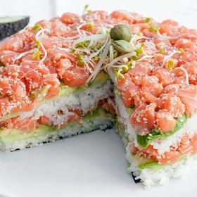 Make a Sushi Cake - Bucket List Ideas