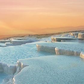 Bathe at Pamukkale salt springs - Bucket List Ideas