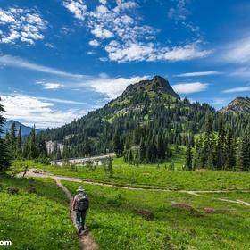 Hike Naches Peak Loop Trail in Mt. Rainer National Park - Bucket List Ideas