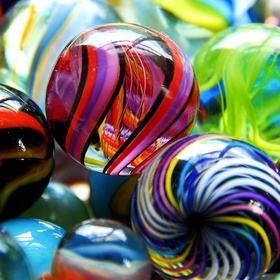 Have Collection of marbles - Bucket List Ideas
