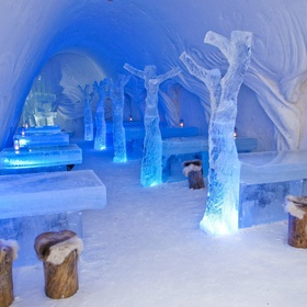 Drink at an Ice Bar - Bucket List Ideas