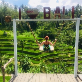 Swing on Tegalalang Rice Terrace Swing~ Bali - Bucket List Ideas