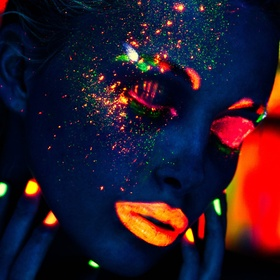 Have A Neon Glow In the Dark Paint Fight - Bucket List Ideas