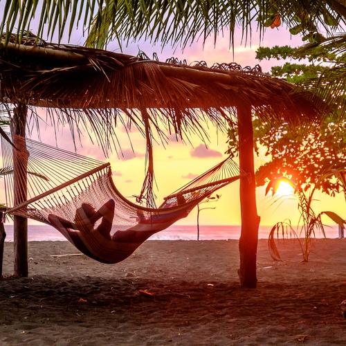 Camp on a beach - Bucket List Ideas