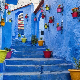 Visit the blue city of Chefchaoen in Morocco - Bucket List Ideas
