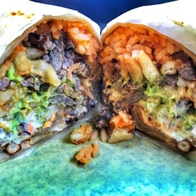 Try a Fries Taco Burrito from Cali Tacos - Bucket List Ideas